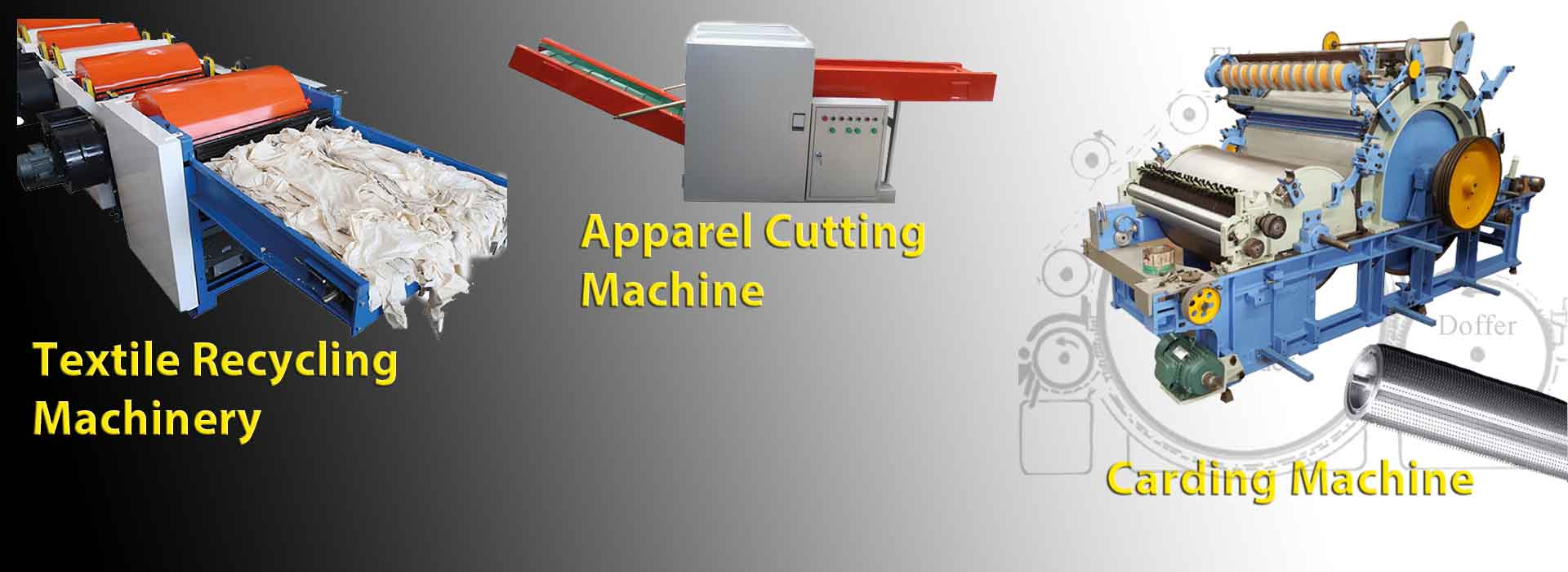 Apparel Waste Recycling Machinery